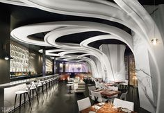For imaginative restaurant designs, watch this space. 1. Designer: Hacin + Associates. Project: Glass House. Site: Cambridge, Massachusetts. Standout: H...