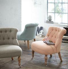 Rockig barockig - diese peppige Sitzmöbel, erhältlich in drei leuchtenden Farben, überzeugt mit modern-nostalgischem Charme! #Sessel #Vontage #Impressionenversand