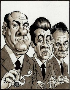 The Sopranos - Tony Soprano; Silvio Dante; and Paulie Walnuts #GangsterFlick