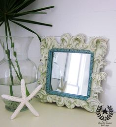 Shabby Coast Cottage: Vintage Mirrors equals Love!