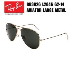 f107af2820 Ray-Ban AVIATOR LARGE METAL RB3026 AVIATOR LARGE METAL Ray Ban Sunglasses  Outlet