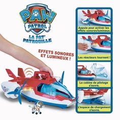 Pat Patrouille - Avion Air Patrouilleur