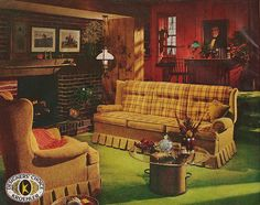 american living room furniture. kroehler furniture ad by saltycotton via flickr american living room