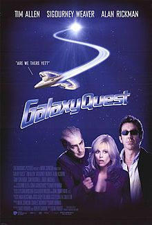 Galaxy Quest.  Forgot how much I always enjoy this movie until I caught it again late one night recently - but then I'm a geek so not surprising!