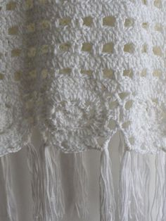 Top crochet flecos tank -blanco-Spanish SheIn(Sheinside) Sitio Móvil
