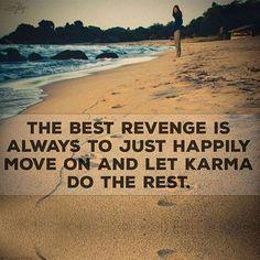 Let Karma Do The Rest! ☺ #curejoyinspirations  #insperation #quote