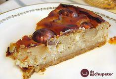Tarta de casta�as y almendras! Una combinaci�n de las casta�as y almendras con una textura parecida al pudin. Con casta�as de Allariz.