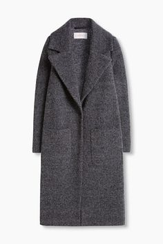 Esprit / Long wool/silk blend tweed coat - Lilly is Love Winter Coats Women, Coats For Women, Jackets For Women, Coats And Jackets, Women's Coats, Winter Outfits, Casual Outfits, Fashion Outfits, Sweatshirts