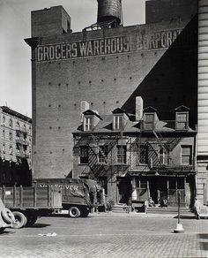 broome street 1935 : berenice abbott #GISSLER #interiordesign