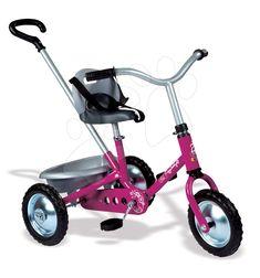 f1178b1fd43b Szerezzen örömöt gyermekének a Smoby triciklivel, mely láncmeghajtással  működik és fékezése hátrapedálozással történik. Időtlen dizájn és rózsaszín  ...