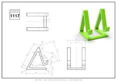 Cad Drawing, Technical Drawing, 3d Paper, Autocad, Exercises, Drawings, Drawing Drawing, Exercise Routines, Excercise