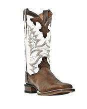 Corral Western Cowgirl Boots Square Toe Saltillo Golden/Black ...