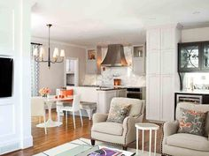 Transitional Living-rooms from TerraCotta Properties on HGTV