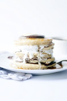 s'more pancakes - Heather's French Press