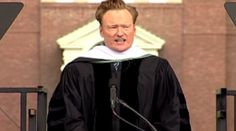 CONAN O'BRIEN: Success is a lot like a bright white tuxedo. You feel terrific when you get it, but then you're desperately afraid of getting it dirty, of spoiling it. Best Commencement Speeches, Conan O Brien, White Tuxedo, Saturday Night Live, The Simpsons, Creative Writing, All About Time, How Are You Feeling, Good Things