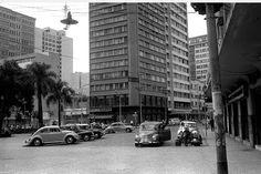 Praça Zacarias - década de 60