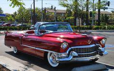 1955 Cadillac Series 62 Convertible.
