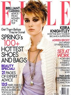 Keira Knightley | Photography by Gilles Bensimon | For Elle US | April 2005