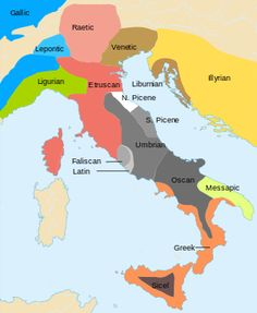 Venetic is an extinct Indo-European language that was spoken in ancient times in the North East of Italy (Veneto) and part of modern Slovenia, between the Po River delta and the southern fringe of the Alps. http://en.wikipedia.org/wiki/Venetic_language