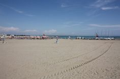 Beach of #Caorle, #Italy