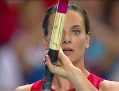 Watch Yelena Isinbayeva win gold in the women's pole vault, then hear from the Russian at the 2013 World Championships! World Athletics, Pole Vault, Vaulting, World Championship, Moscow, Finals, Athlete, Management, Beauty