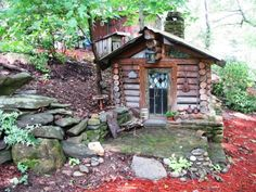 dry stone dog house - Google Search