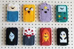 podkins:    Adventure Time crochet fun! Loving it! Source on Etsyhere