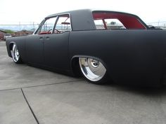 63 Lincoln Continental..I would change those rims though
