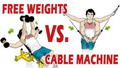 Free Weights vs. Machines vs. Cables