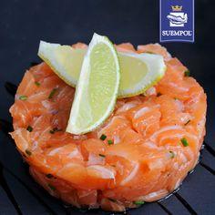 #salmon #tartar #lemon #losos #tatar #cytryna #starter #przystawka #suempol #przepisy #recipe