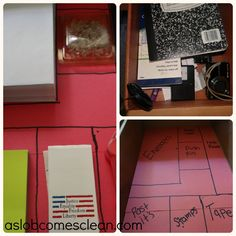 Decluttering Project: Andrea's Desk