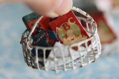 2017.01 Miniature Basket ♡ ♡ By  Calin La Main