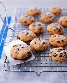 Soft Chocolate Chip Cookies via Martha Stewart