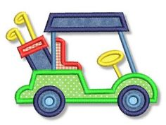 Golf Cart Applique 4x4 5x7 6x10