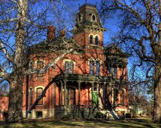 James Millikin Homestead - Decatur, IL  Millikin University - Home of the Big Blue