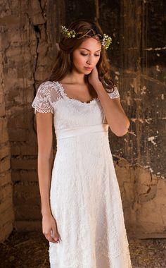 $975 Estelle Wedding Dress   Bridal Gown Collection   Martin McCrea – Martin McCrea Couture