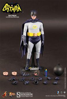 Batman 1966 TV Series - Batman Adam West Sixth Scale (1/6) 12 Inch ...