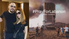 Lebanese fashion designer Dalida Ayach, wife of singer Rami Ayach, was injured in Beirut explosions on Tuesday evening...