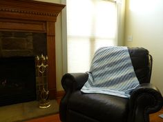 Hey, I found this really awesome Etsy listing at https://www.etsy.com/listing/160285682/bluewhite-diagonal-striped-throw