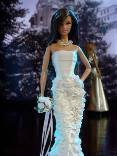 barbie bridal wedding gowns ❣...1..2 qw