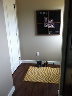 Keep organized with a chalk board! A look at upcoming show home in Secord.
