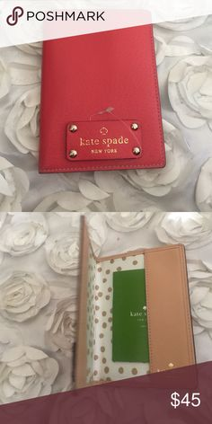 Kate spade Kate spade passport sleeve kate spade Accessories