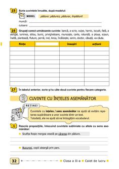Clasa a II-a : Comunicare în limba română. Clasa a II-a Tracing Worksheets, Preschool Worksheets, Homeschooling, Kindergarten, Parenting, Reading, Gabriel, Quizes, Archangel Gabriel