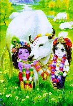 Bal krishna with balram Hare Krishna, Krishna Leela, Jai Shree Krishna, Krishna Radha, Krishna Drawing, Krishna Painting, Lord Krishna Images, Radha Krishna Pictures, Hanuman Images