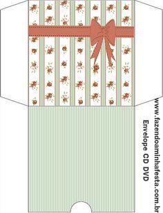Template Green Label and Terracotta Envelopes, Envelope Book, Dvd, Letter Writing, Scrapbook Albums, Illustration, Card Making, Stationery, Printables
