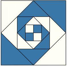 Indiana Puzzle Quilt Block xx