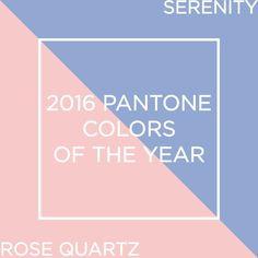 Azzurro Serenity, Rosa quarzo Pantone, 2016, design, home decor, fashion, outfits, labo54oltrelamoda, trends, color report