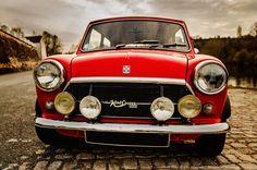 Mini Cooper 1300 Innocenti | Mini Cooper 1300 Innocenti | Dream MINI Cooper | Dream Car | Car | collectable car | Classic Car | Classic MINI cooper | Schomp MINI Mini Clubman, Mini Coopers, Red Mini Cooper, Mini Lifestyle, Classic Mini, Jaguar, Antique Cars, Brave, Vintage Style
