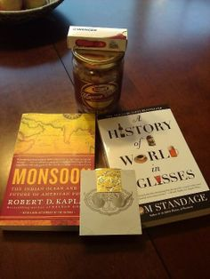 Great set of books, knife, bookmark, and amazing granola.