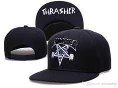 Thrasher adjustable snapback hats Classic men & women Ball Caps sports caps adult's Climing summer 8 colors Free Shipping